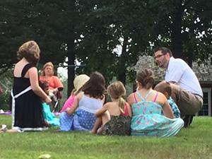 Pastor Jared with Children